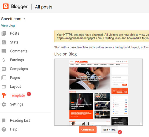 access-blogger-dashboard-edit-template