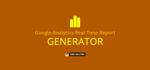 Garog – Google Analytics Real Time Overview Report Generator Feature Image