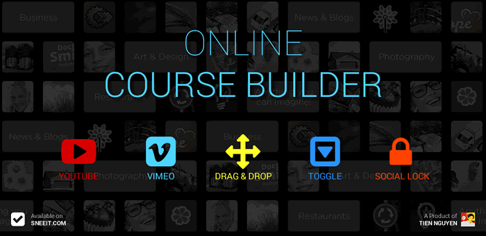 Online HTML Course Builder for Education Websites Feature Image