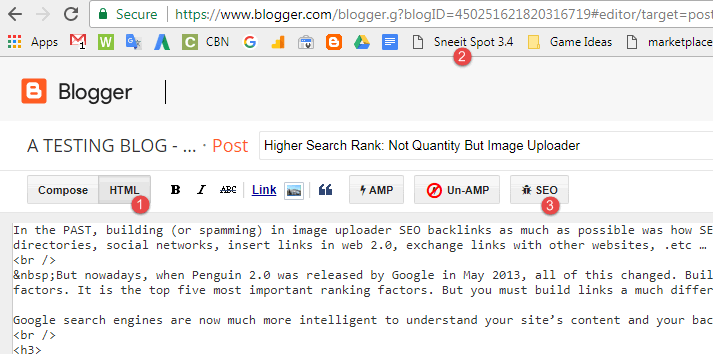 Sneeit Spot SEO Checker