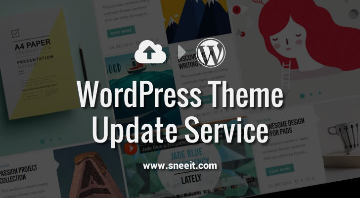 WordPress Theme Update Service Feature Image