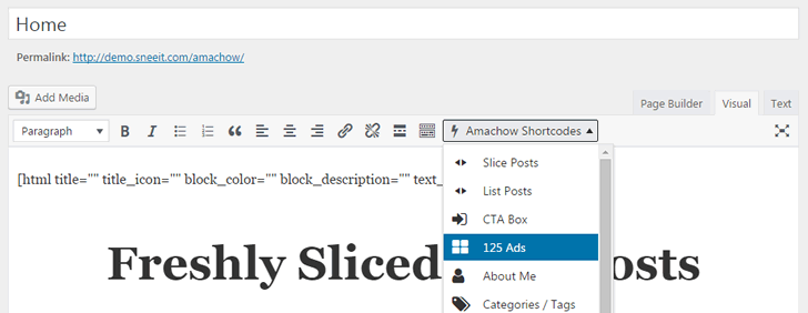 Work with Shortcode & Page Builder in WordPress Themes from Sneeit