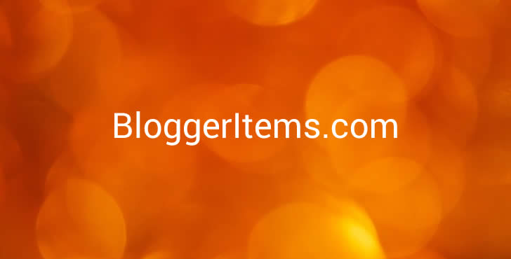 BloggerItems.com – Domain for Blogger / Blogspot Resource Sites Feature Image