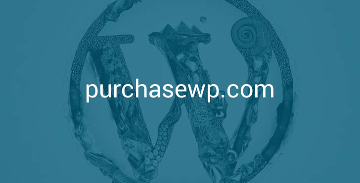 PurchaseWP.com – Domain for Selling WordPress Product Websites Feature Image