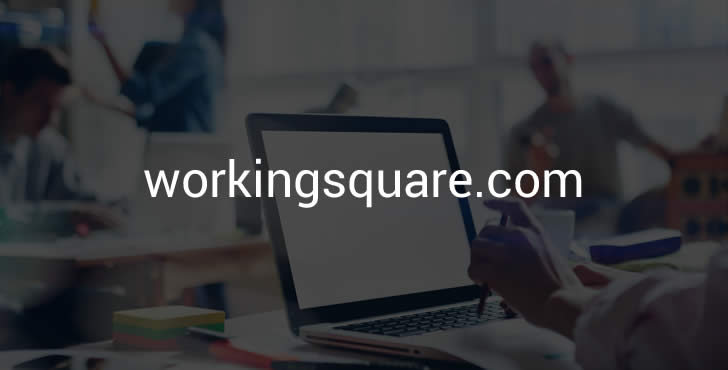 WorkingSquare.com – Domain for Job Board or Co-Working Space Feature Image
