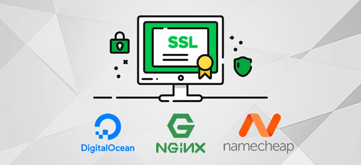 Install SSL on Nginx (NameCheap Domain + Digital Ocean Server) Feature Image
