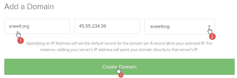 Add Domain - Install Nginx for WordPress on Digital Ocean VPS Hosting with Centminmod (LEMP)