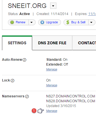 Access Domain Dashboard - Install Nginx for WordPress on Digital Ocean VPS Hosting with Centminmod (LEMP)