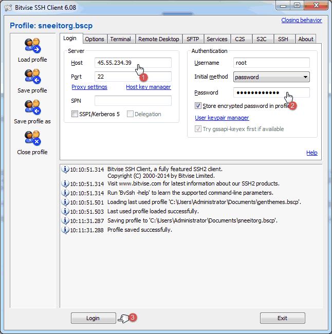 Bitvise Start Page - Install Nginx for WordPress on Digital Ocean VPS Hosting with Centminmod (LEMP)