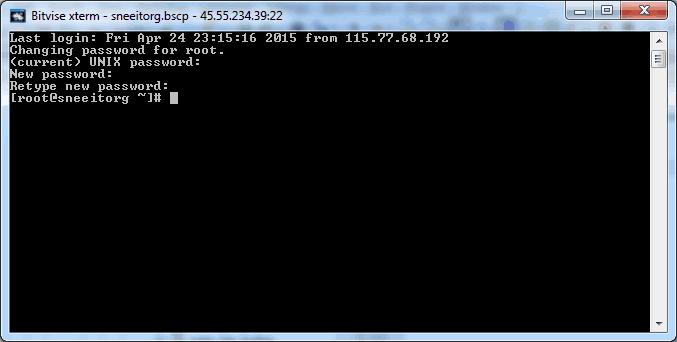 Bitvise Terminal - Install Nginx for WordPress on Digital Ocean VPS Hosting with Centminmod (LEMP)