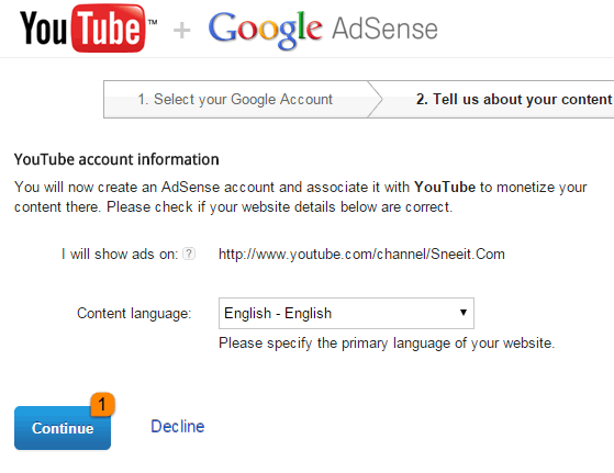 How to Register Google Adsense for Earning with Youtube - Blogger - Blogspot?