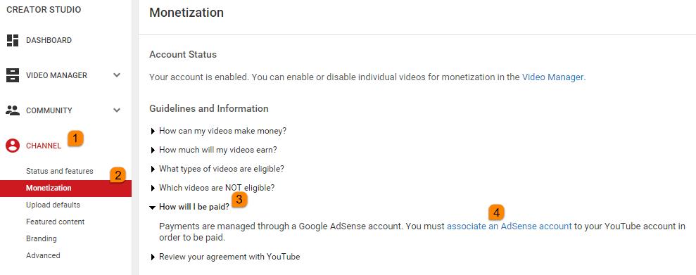 How to Register Google Adsense for Earning with Youtube - Blogger - Blogspot?