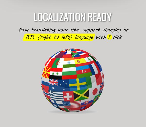 Flat News – Responsive Magazine WordPress Theme - Localization Ready