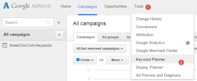 3 Steps to Optimize Article Titles for More Traffic - Google Adwords Keyword Planner